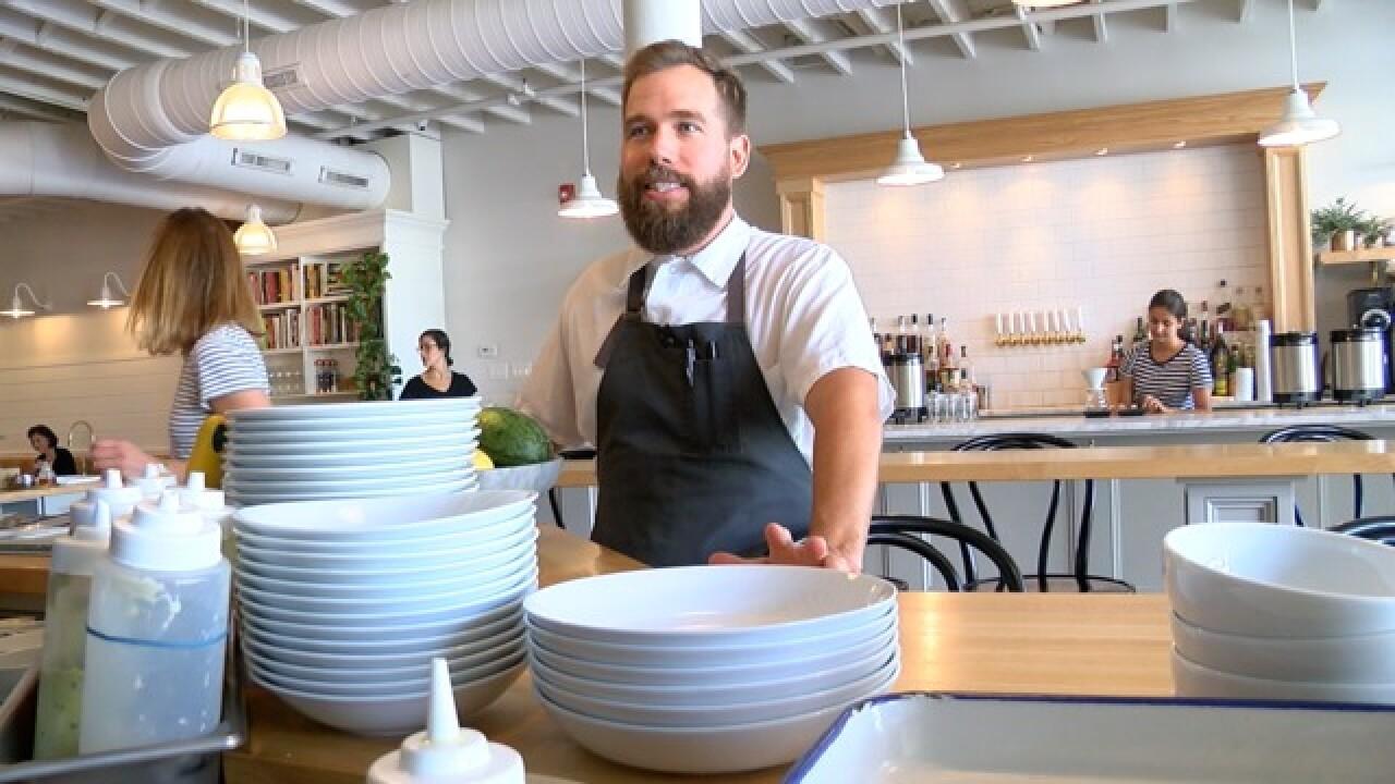 Chef returns home to open The Grange in Hamburg