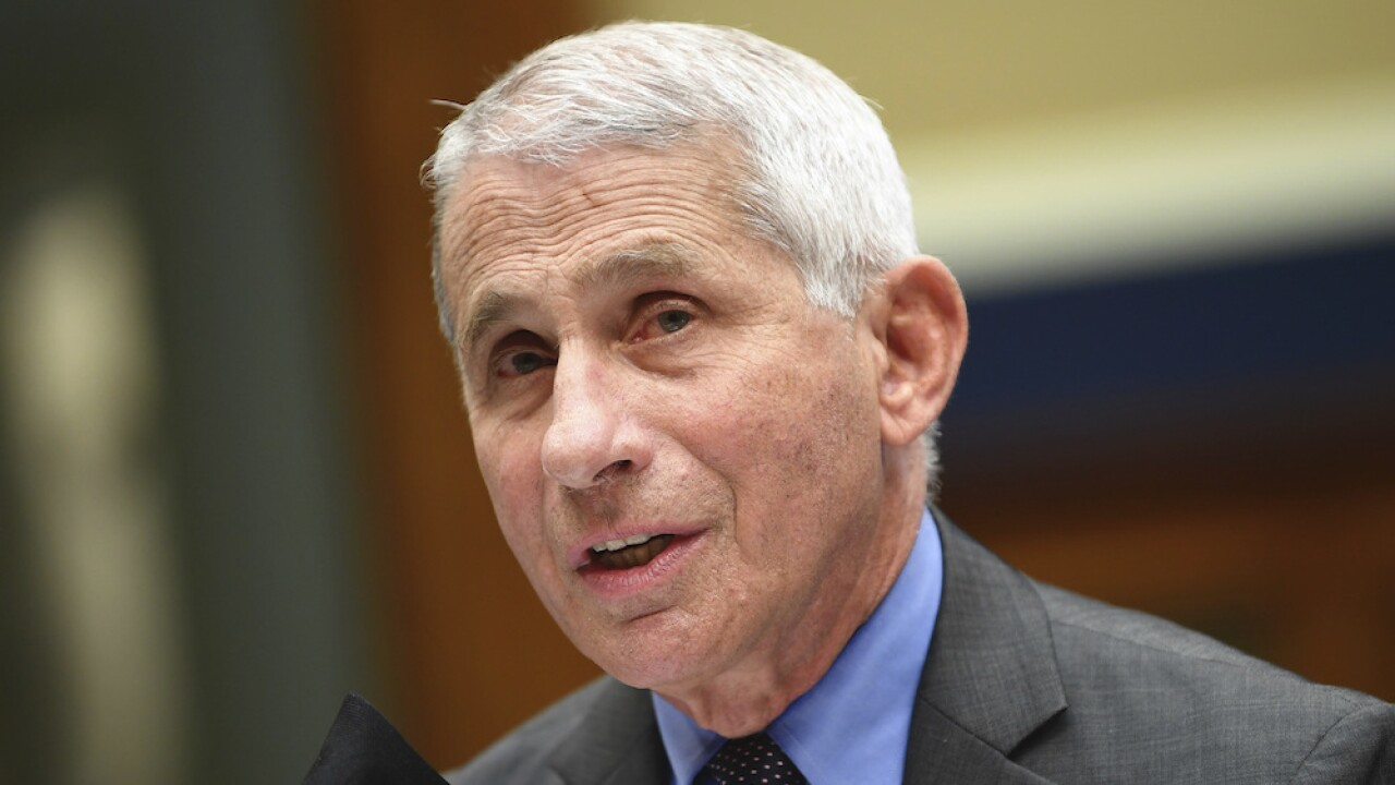 Fauci makes first media appearance since surgery, warns colleges about sending students home