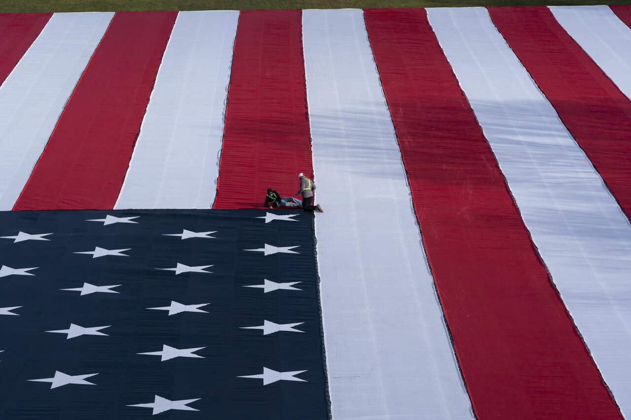 Biden Inauguration Flags