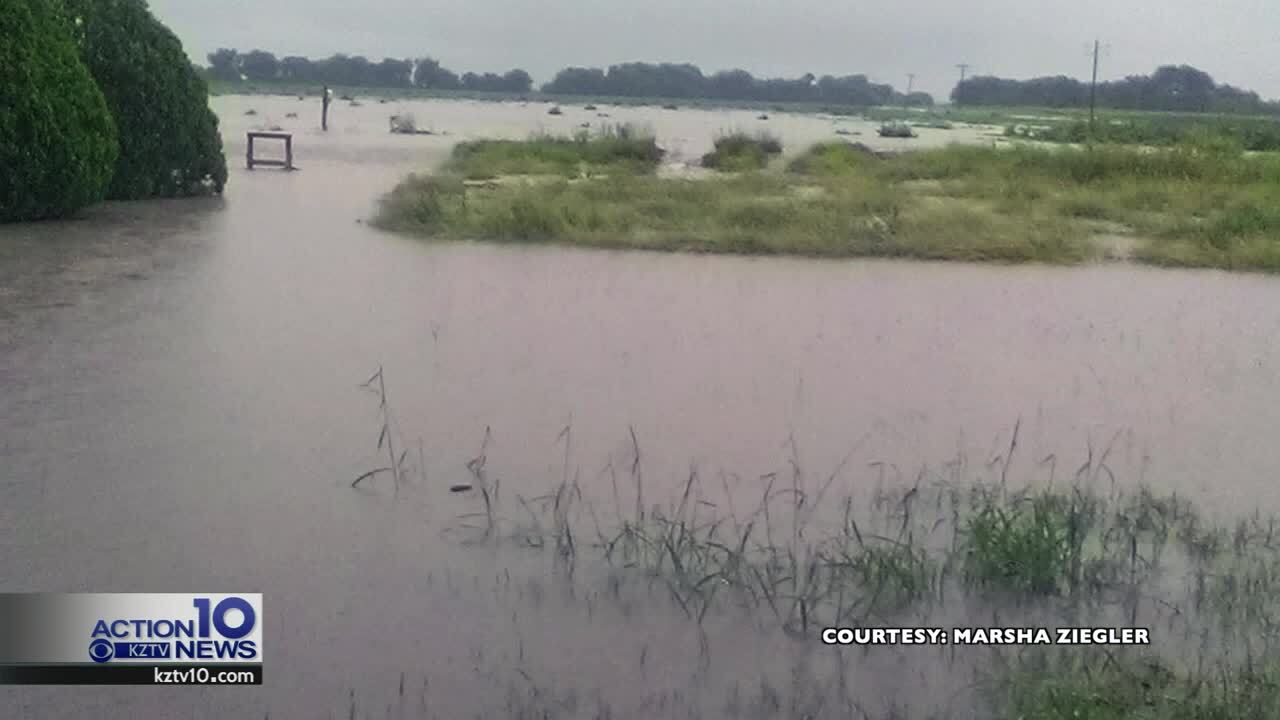 Flooding makes for dangerous conditions across Coastal Bend