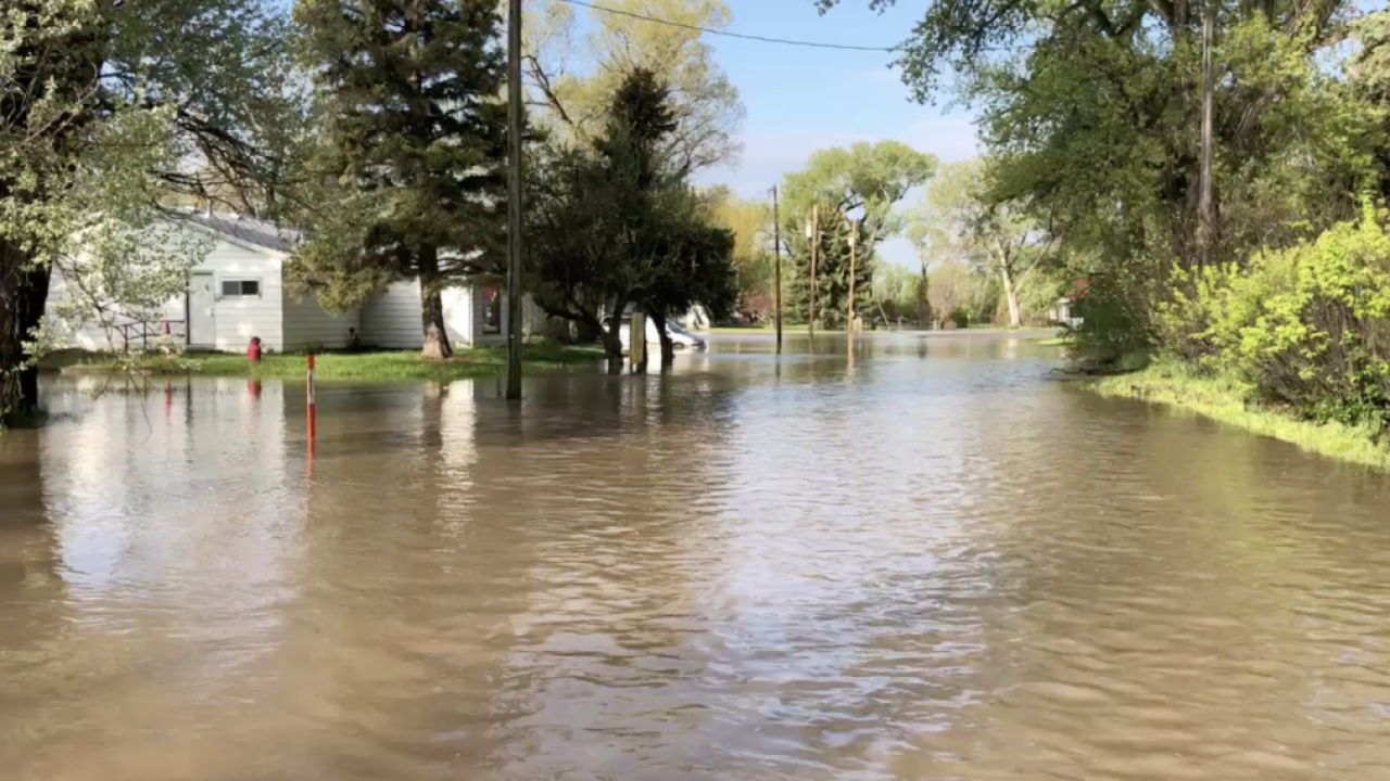 Even post-flood season in Montana, floods are still a danger