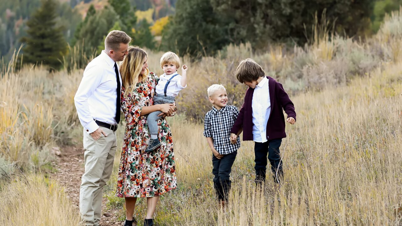 How to capture picture perfect family photos