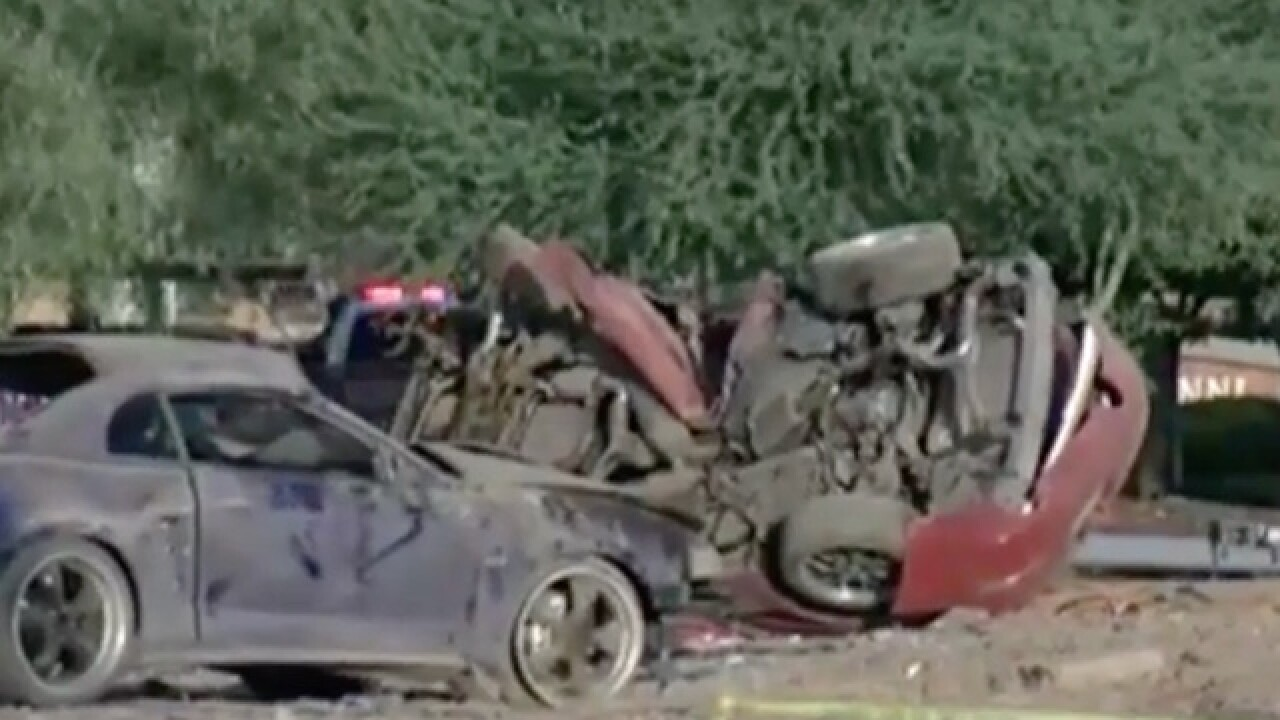 Power out for hundreds after deadly crash in PHX