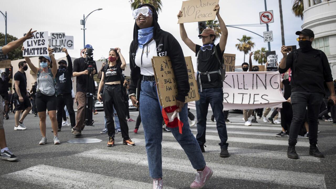 Minneapolis Police Death Protests California