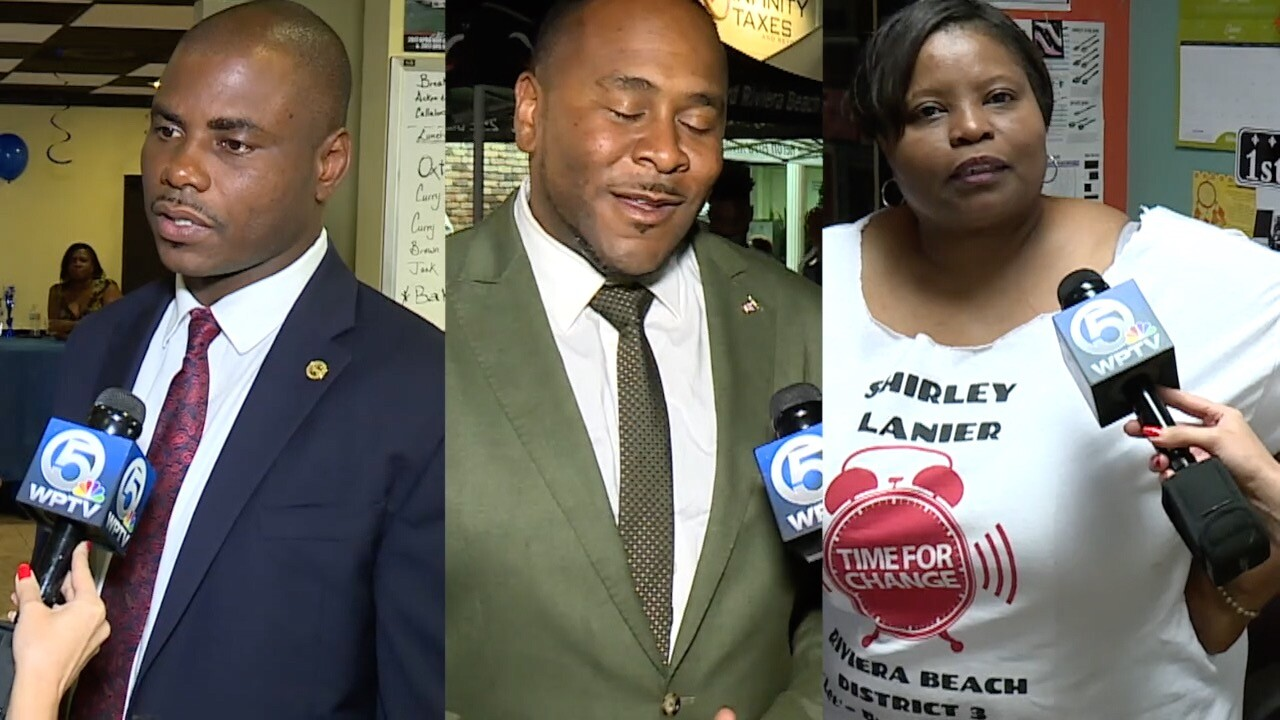 wptv riviera beach mayor, city counci members.jpg