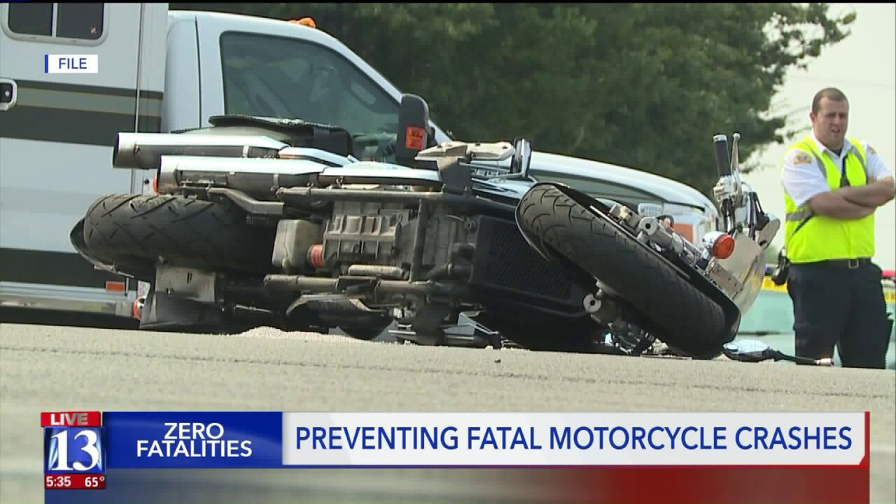 Six motorcycle fatalities reported in Utah so far this year; drivers and riders urged to becautious