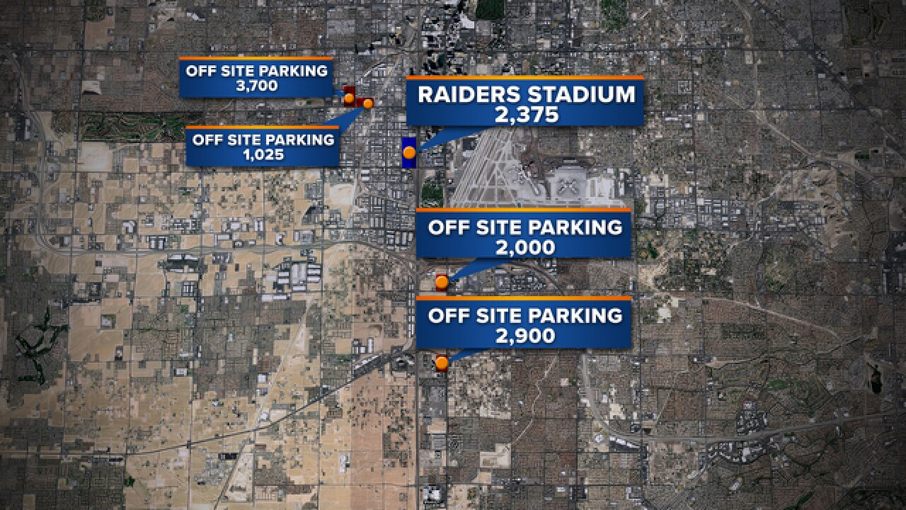 Stadium parking plans look at off-site options