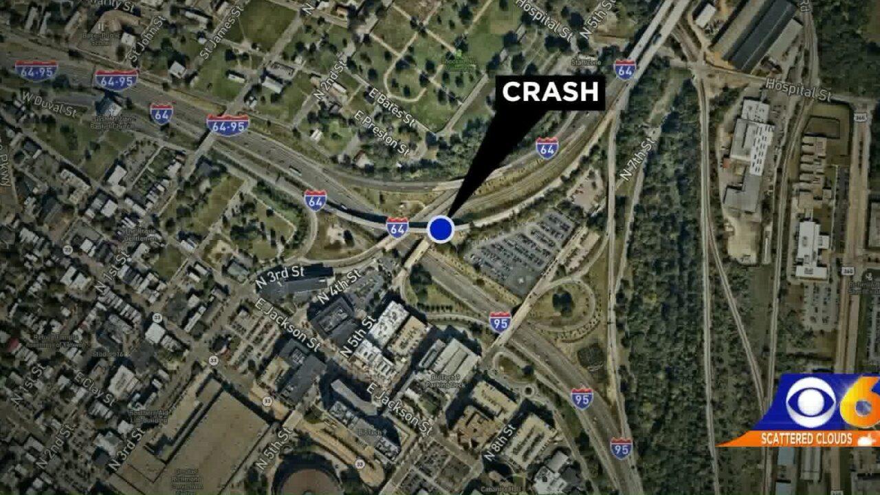 Four hospitalized following 5 vehicle crash inRichmond