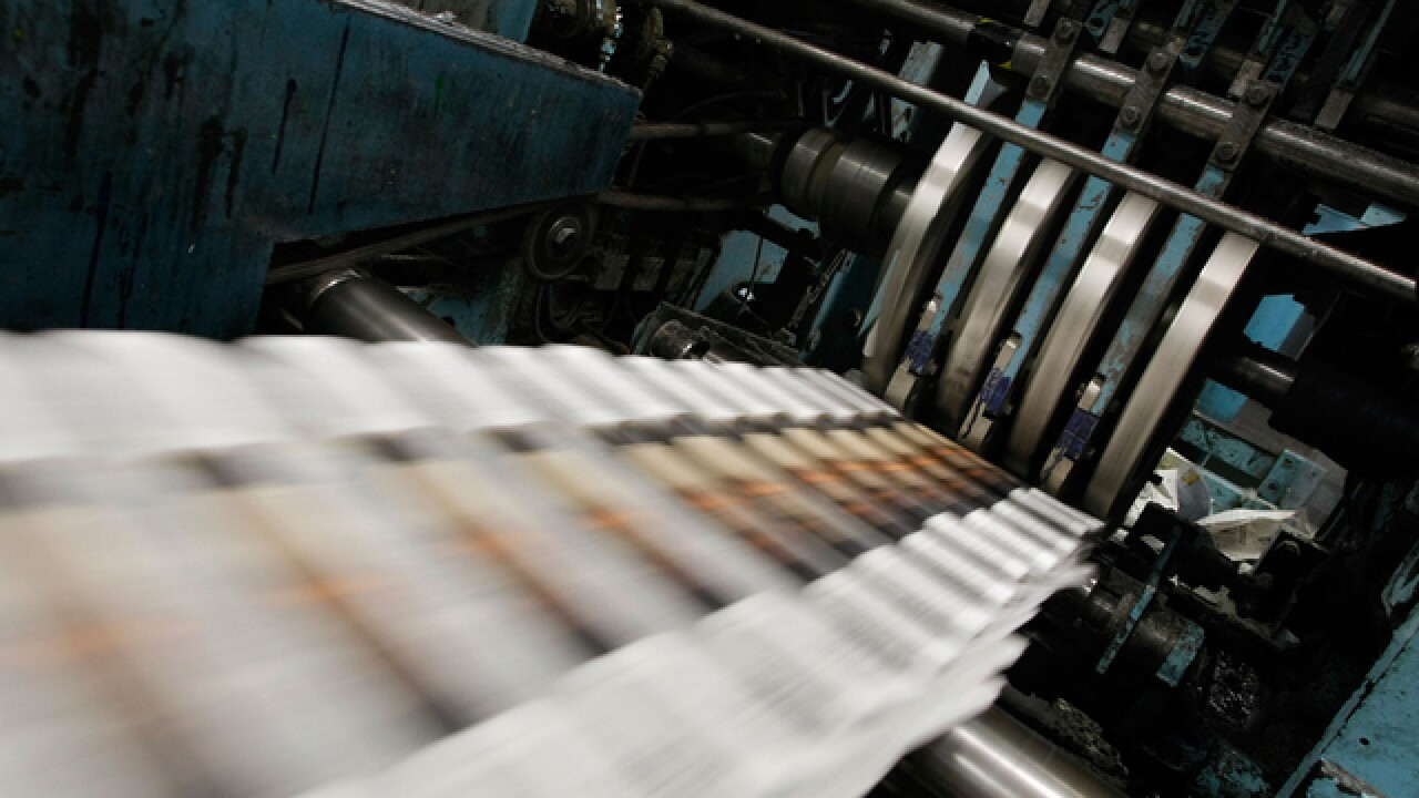 Local newspapers end print run after photographer's shooting