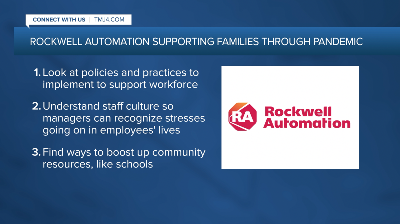 Rockwell Automation's plan to support families