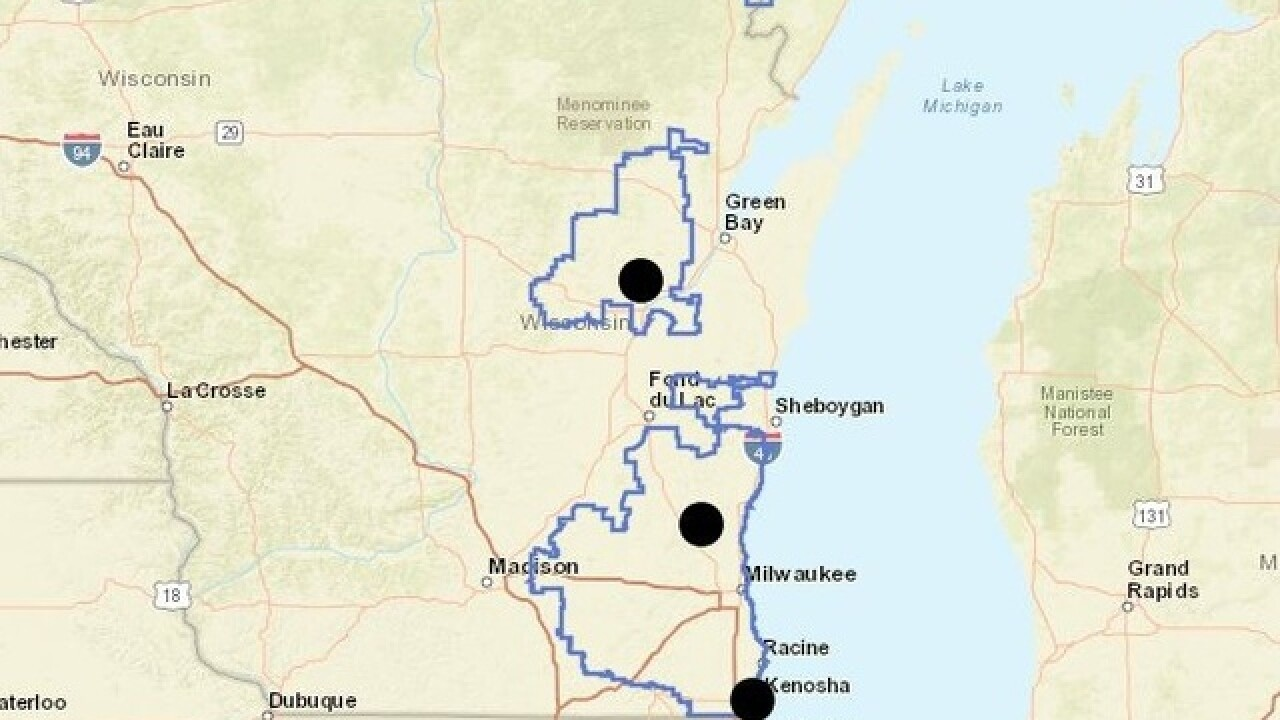 Power Outages In Northeast Wisconsin