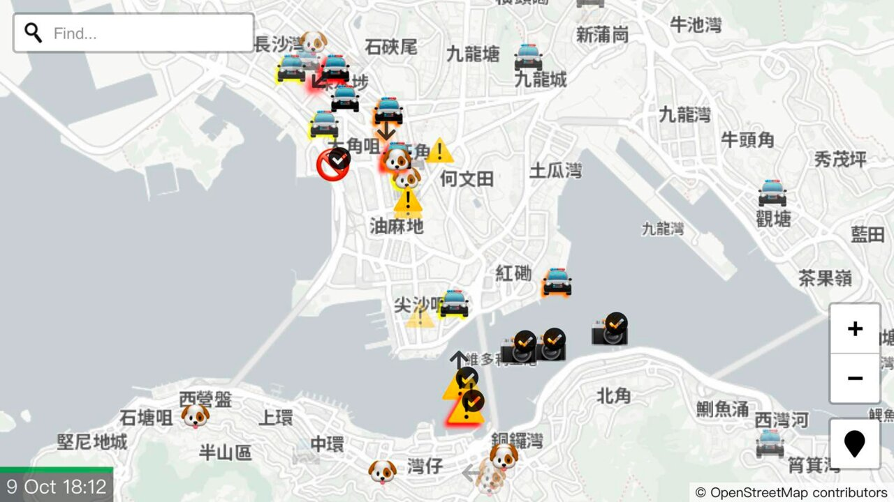 Apple removes app used by Hong Kong protesters to track police movements