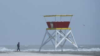 Virus Outbreak New Jersey Beaches