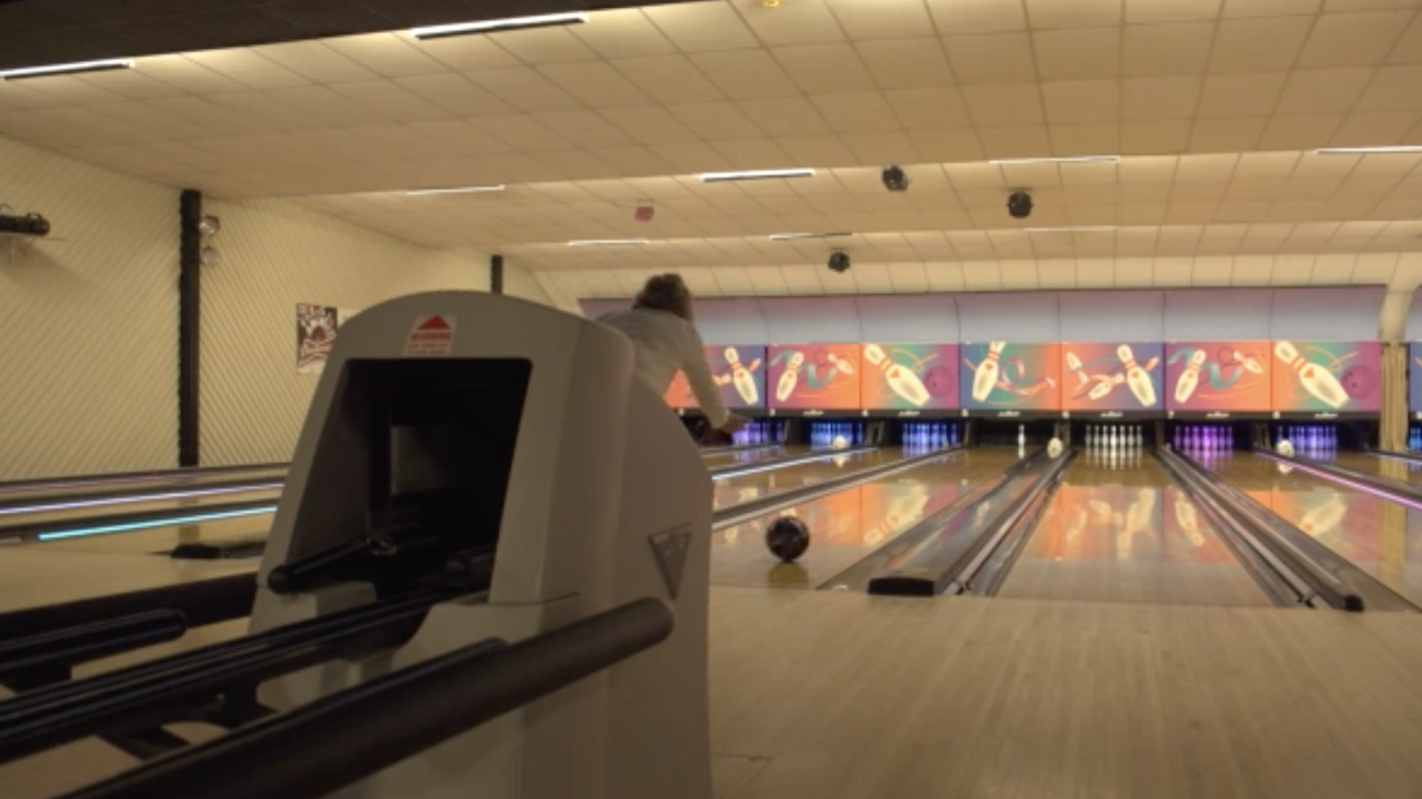 At the Royal Family Bowling Center in Front Royal, Virginia, business was tough when the pandemic initially began, but has recently improved because of relaxed coronavirus restrictions.