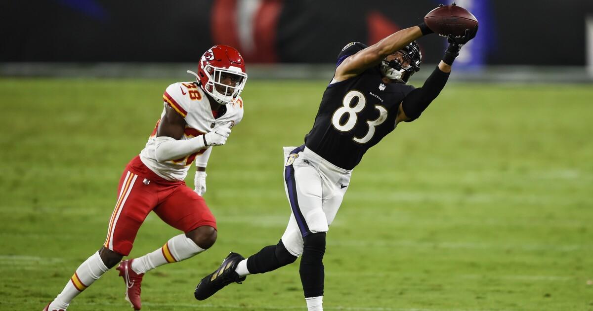 Andy Reid says Chiefs rookie cornerback L'Jarius Sneed suffered broken collarbone