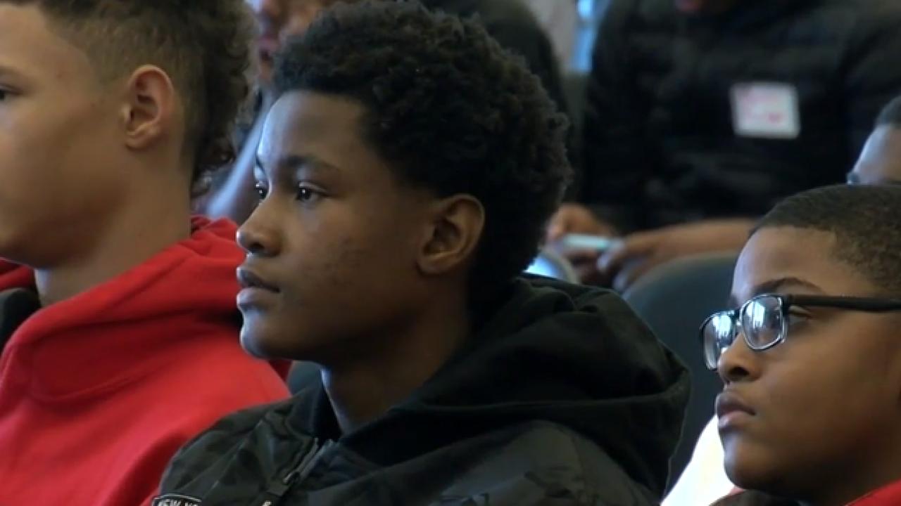 Black males of color at UWM workshop