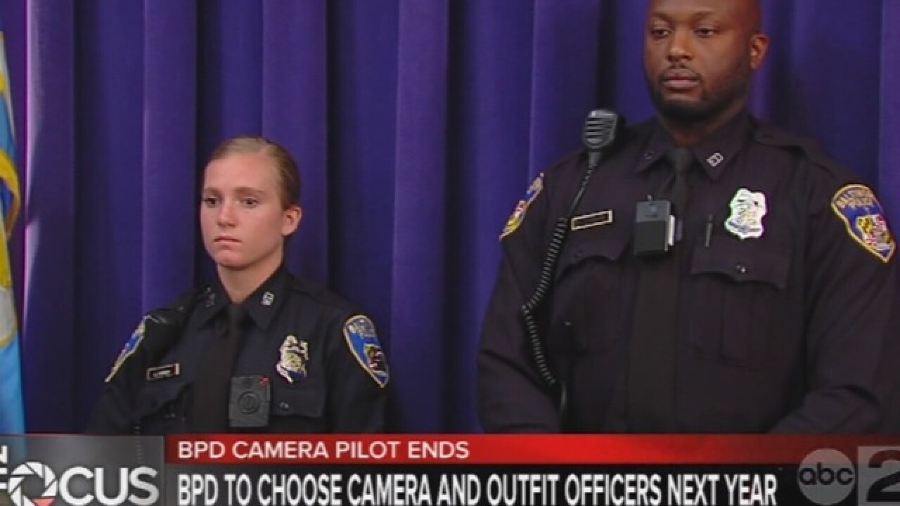 Police body cam pilot ends, planning for program