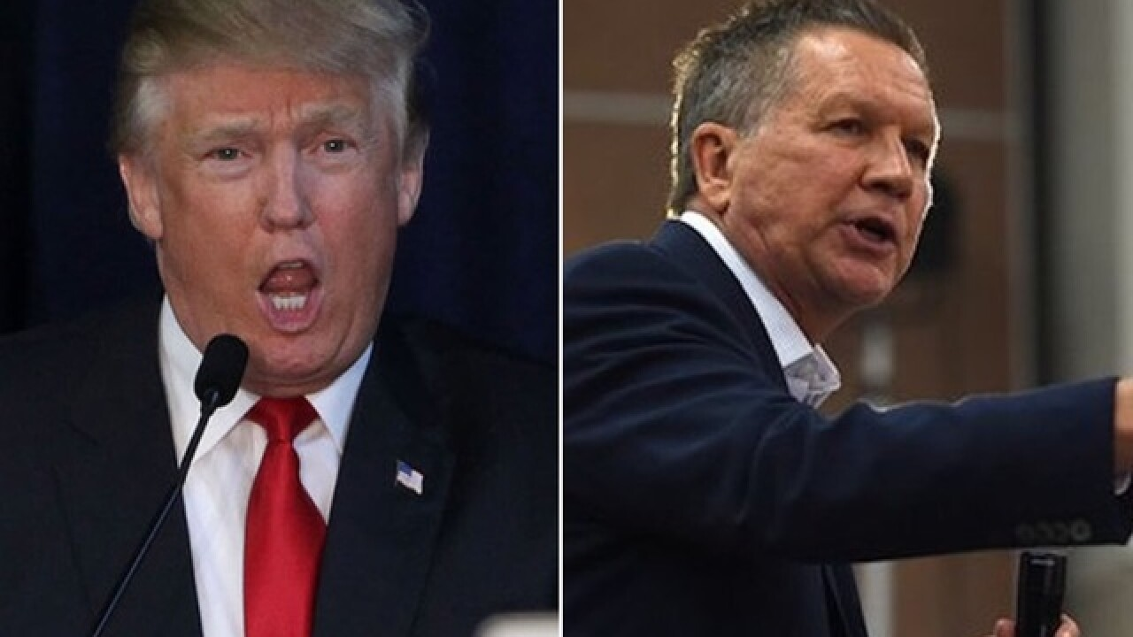Kasich won't endorse Trump in fractured GOP