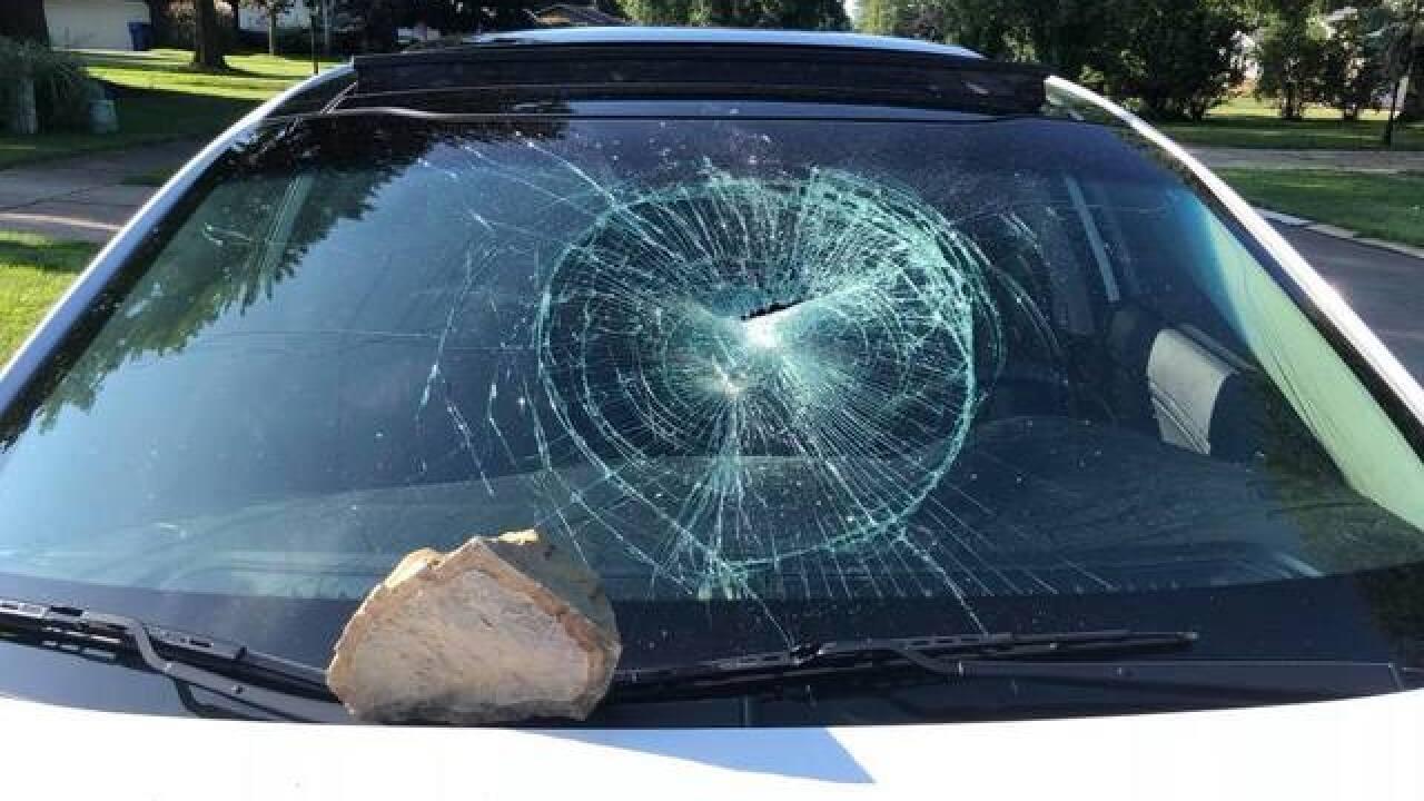 2 cars badly damaged in North Ridgeville