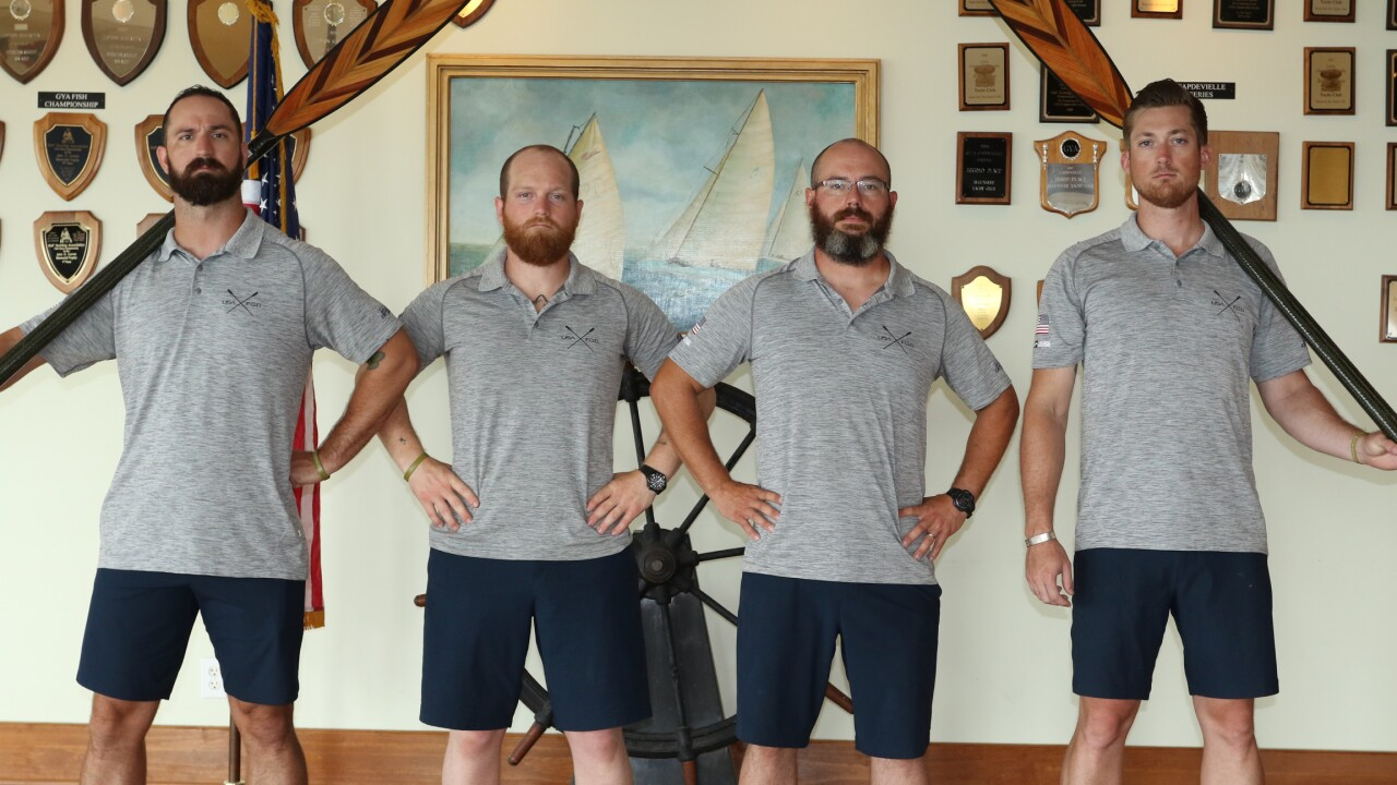 U.S. veterans row across Atlantic Ocean for mental health awareness