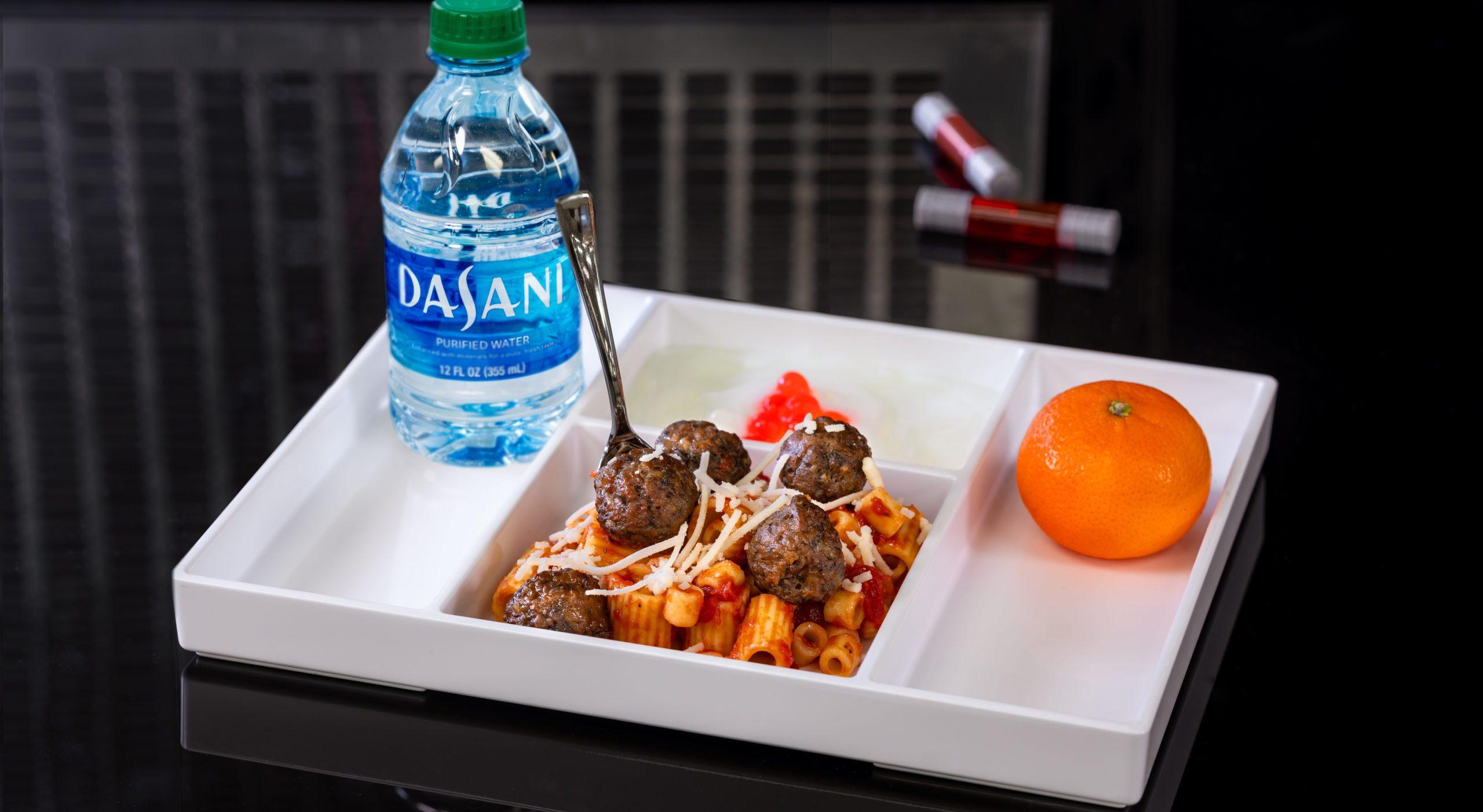 Avengers Campus Food & Beverage Ð Mini Pasta & Impossible Meat-balls