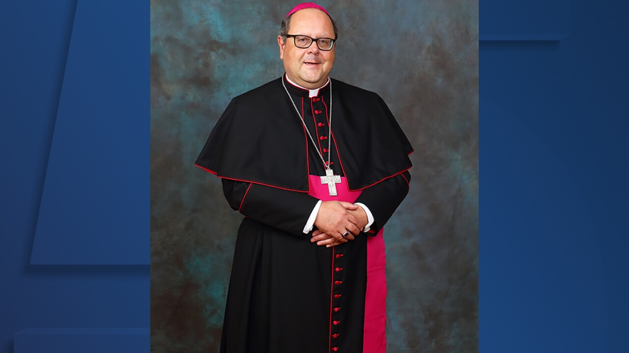 Edward Malesic named new Bishop of the Catholic Diocese of Cleveland.