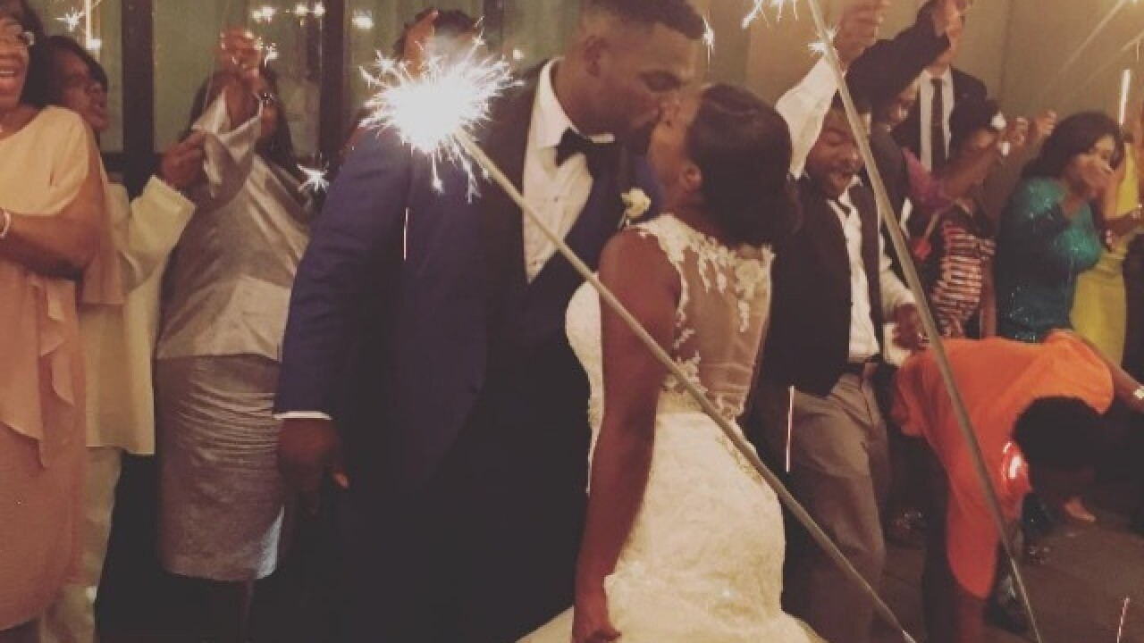 Bengals defensive tackle Geno Atkins gets married in Atlanta