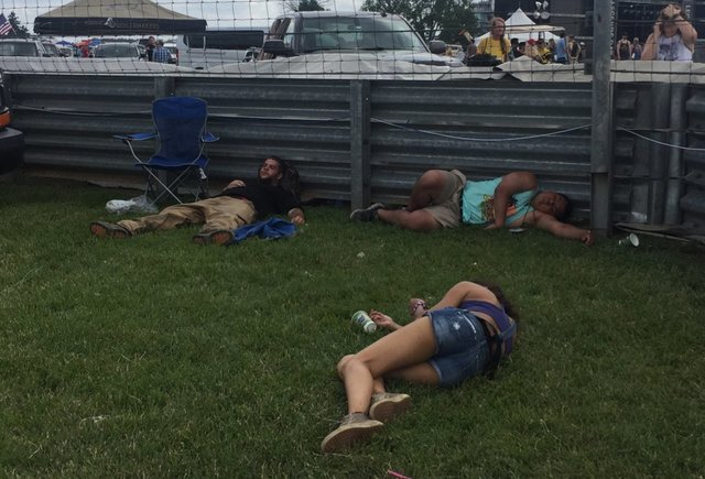 The Snake Pit Concert at the Indy 500