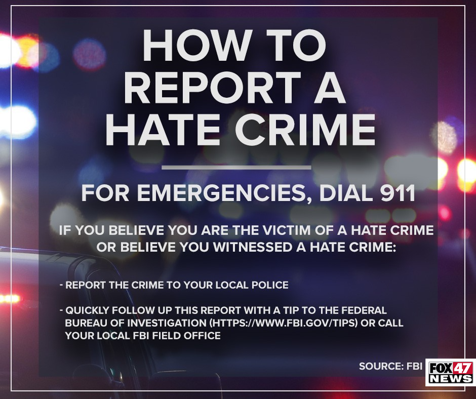 How to report a hate crime