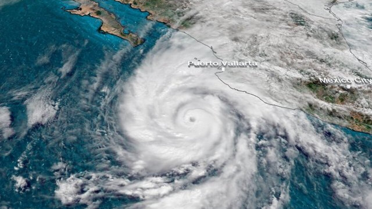 Potentially catastrophic Category 5 Hurricane Willa nearing Mexico's Pacific coast