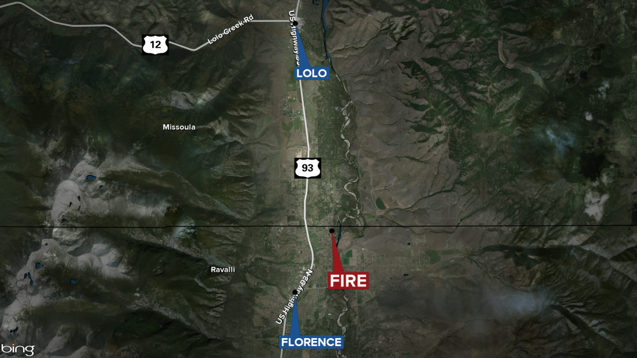 Florence Fire Map