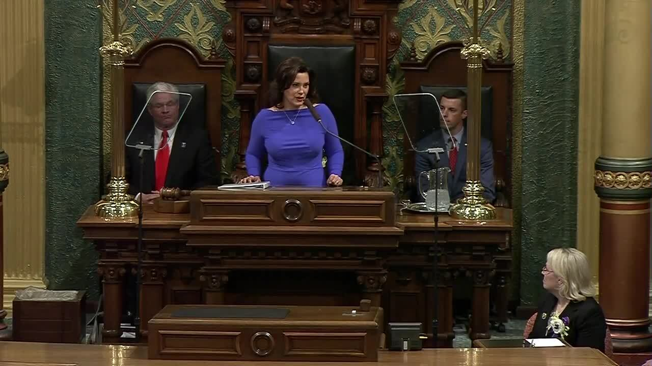 Whitmer state of the state