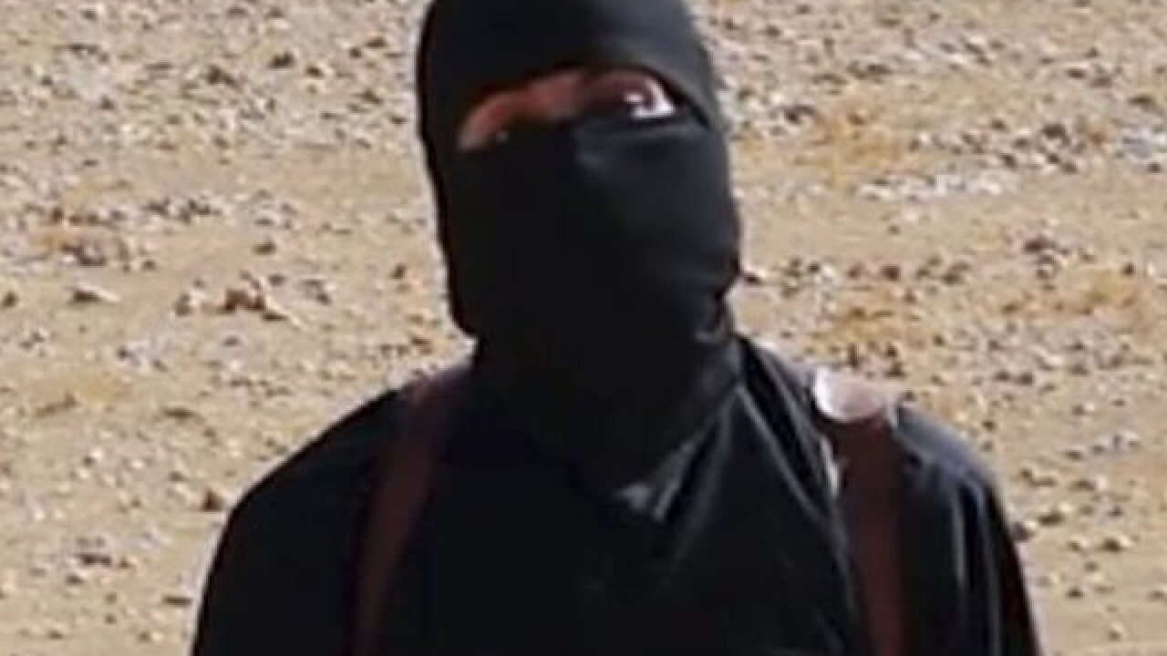 IS acknowledges death of 'Jihadi John'