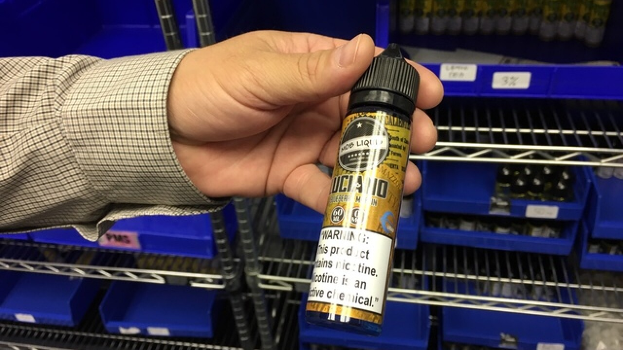 Vape producers to reveal ingredients to FDA