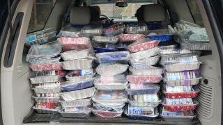 "Great Falls woman donates ""birthday cake kits"" to community"