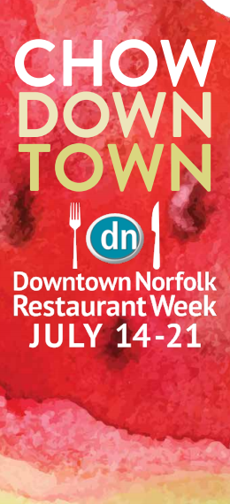 Photos: Restaurant Week is coming to Downtown Norfolk July14-21