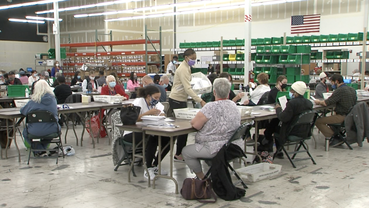 Wednesday counting ballots