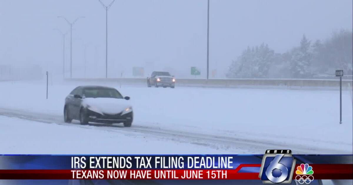 IRS pushes back tax filing deadlines across Texas
