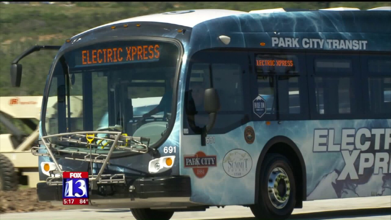 Park City, Summit County launch fleet of electricbuses