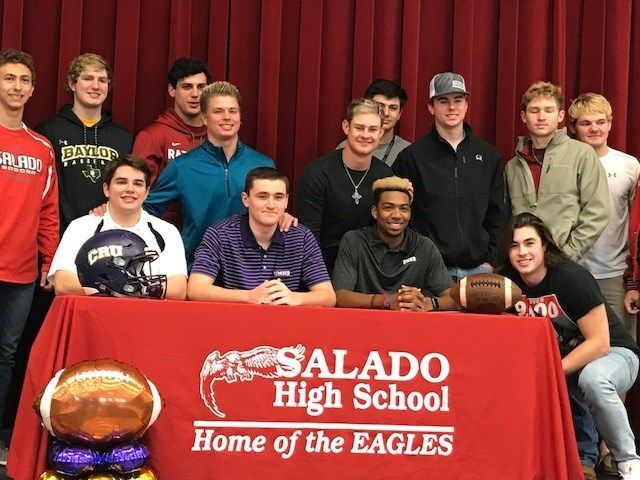 Salado High School Signing Day 20