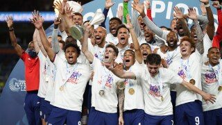 APTOPIX CONCACAF Mexico United States Soccer