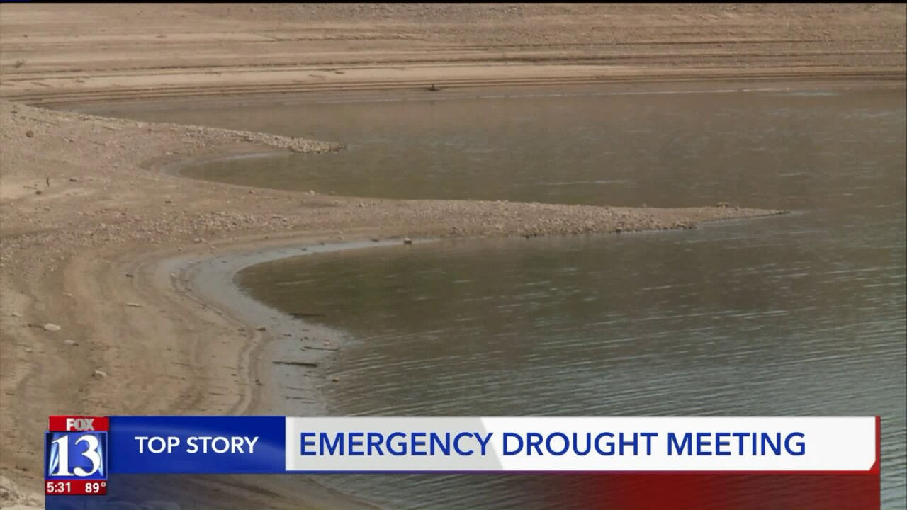 Bleak drought outlook discussed at emergency meeting with state and federalstakeholders