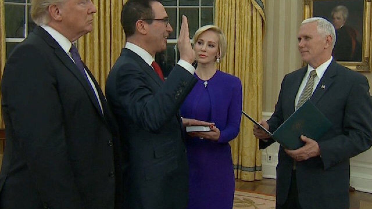 Treasury secretary's wife faces criticism for Instagram post, reply