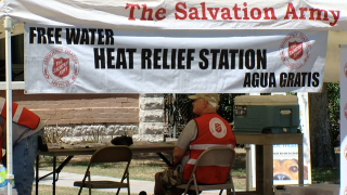 Salvation Army Heat Relief Stations