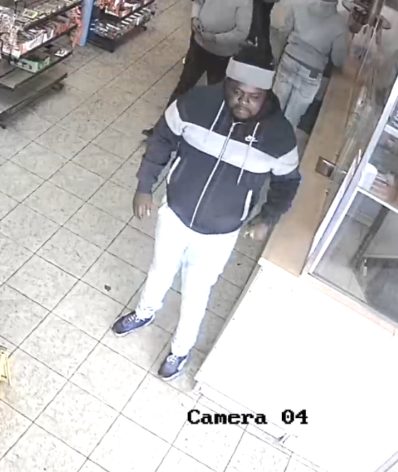 Cleveland police asking for the public's help in identifying two people of interest in homicide investigation.