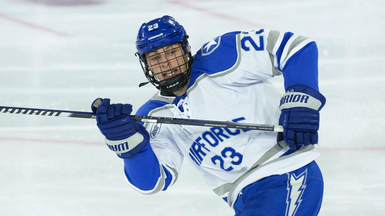 Air Force hockey's Reim & Rowe claim weekly AHA honors