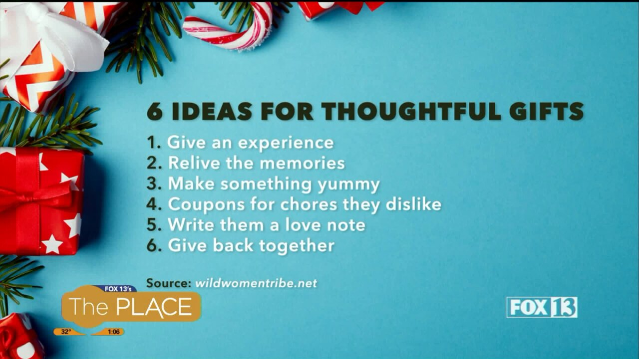 Six ideas for thoughtful gifts around the holidays or all yearlong