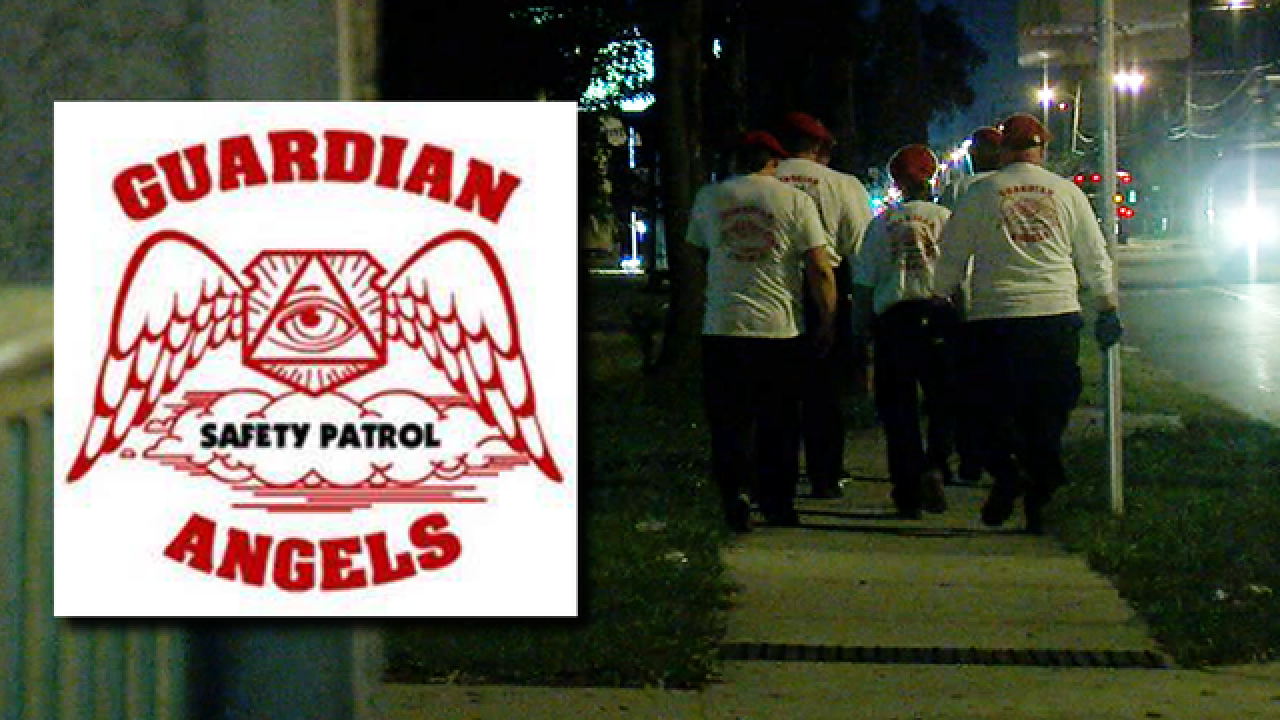 Guardian Angels providing extra security in SH
