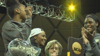 LADY BEARS KALANI BROWN, CHLOE JACKSON TAKEN IN WNBA DRAFT.jpg