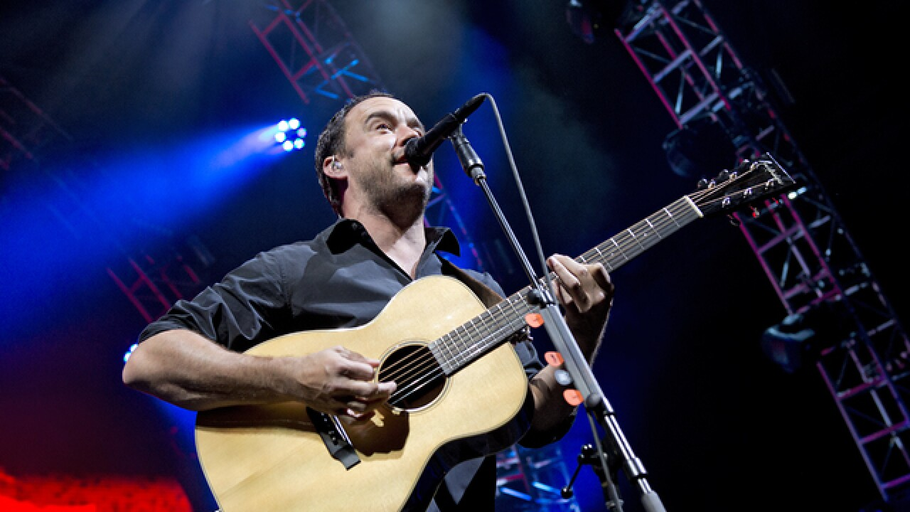 Dave Matthews thinks Cincinnati 'is a gem'
